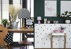 Evi canlandıran tasarım: Puantiye
