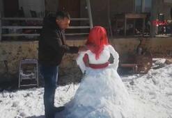 Kardan gelin ilgi odağı oldu
