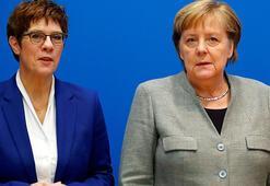 Almanyada Merkelin halefi Annegret Kramp-Karrenbauer istifa etti
