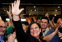 IRAnın siyasi kanadı Sinn Fein İrlanda seçimlerinde zafere uzandı