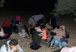 Çanakkalede 73 kaçak göçmen yakalandı