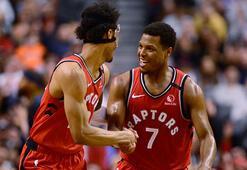 NBAde Raptors, galibiyet serisini 15 maça çıkardı