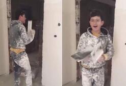 İnşaatta şarkı söyleyen genç Murat Akbaşlı: Sanatçı olmak isterim