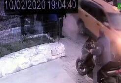 Taksici aracını tamircinin üzerine sürdü