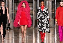 New York Moda Haftası: Oscar de la Rentanın kırmızı tutkusu