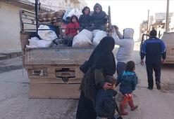 Esed rejimi ve Rusya, son 4 günde 27 bin sivili daha yerinden etti