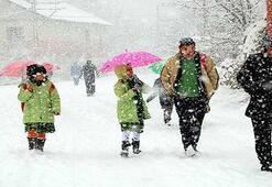 Yarın okullar tatil mi 12 Şubat Çarşamba Ankara, Samsun, Ordu, Sivasta eğitime kar engeli var mı