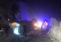 Son dakika | Gümüşhane-Trabzon kara yolu Zigana Dağı mevkisinde çığ düştü