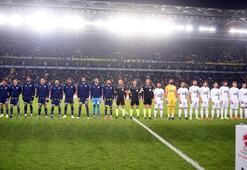 Fenerbahçe - Kırklarelispor maçından kareler