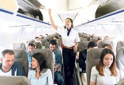 Kural tanımaz yolcuya uçuşta 2603 lira ceza