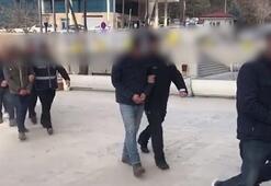 Elazığda hasarlı binalardan hırsızlık yapan 6 kişi tutuklandı