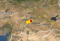 Son dakika Elazığda korkutan deprem