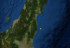 Son dakika... Japonyada Fukuşima yakınlarında deprem