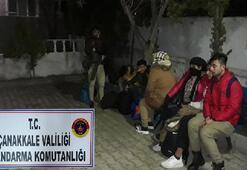 80 göçmen ile 1 organizatör yakalandı
