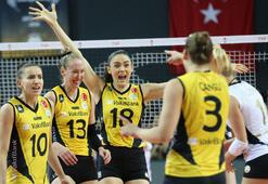 Derbide zafer lider VakıfBankın