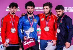 Avrupa Güreş Şampiyonasında milli takım üçüncü oldu