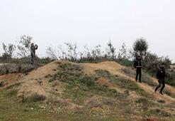 Kral ve ailesinin mezarında bulundu Görünce apar topar kaçtılar