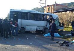 Son dakika haberleri | İzmirde feci kaza Ölü ve yaralılar var