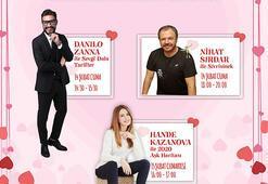 Carousel Sevgililer Günü'nde çok özel isimleri ağırlıyor