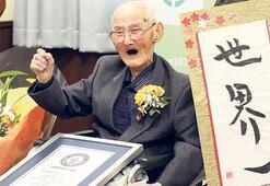 O artık dünyanın en yaşlı erkeği