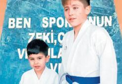 Foçalı karateci kardeşlerden madalya avı