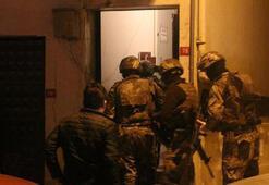 İstanbulda silahlı suç örgütüne operasyon