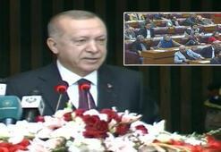 Cumhurbaşkanı Erdoğandan Pakistanda flaş açıklamalar Konuşurken masalara vurdular