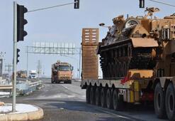 Dikkat çeken hareketlilik 100den fazla konvoy İdlibe ulaştı