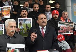 Türkiye Futbol Federasyonuna gözlük ve büyüteçli tepki