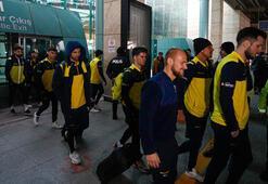 Fenerbahçe kafilesi, Ankaraya geldi