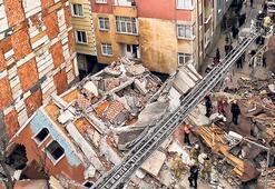 Çöken bina için demir suçlaması