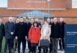 Emniyet yetkililerinin Danimarka ziyareti