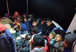 İzmirde 52 düzensiz göçmen yakalandı
