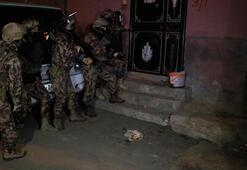 Adana'da terör operasyonu Gözaltılar var...
