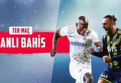 Ankaragücü - Fenerbahçe maçı canlı bahis heyecanı Misli.comda