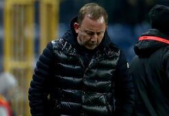 Sergen Yalçın: Berabere bile kalsak üzüleceğimiz maçı kaybettik