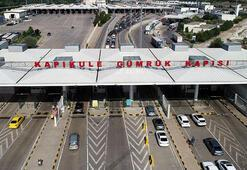 Kapıkule Sınır Kapısından 7 milyon yolcu geçti