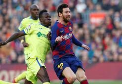 Barcelona-Getafe: 2-1