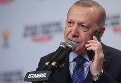 Cumhurbaşkanı Erdoğan, AK Partiye yeni üye olan partililerle telefonda görüştü