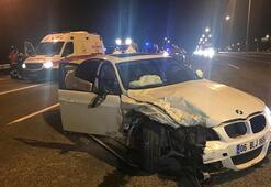 Başkentte trafik kazası: Yaralılar var