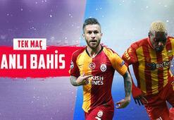 Galatasaray – Yeni Malatyaspor maçı canlı bahisle Misli.comda