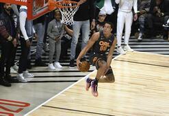 NBA smaç yarışması nefes kesti İnanılmaz smaçlar...