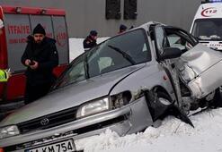 Van'da korkutan kaza Yaralılar var