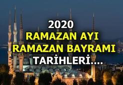 Ramazan ayı - Ramazan Bayramı 2020 tarihlerini Diyanet açıkladı Bayram bu yıl hangi günlere denk geliyor
