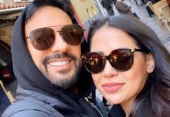 Tarkan eşi Pınar Tevetoğlu ile Monacoda
