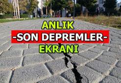 Son depremler listesi | En son nerede, kaç şiddetinde deprem oldu 17 Şubat Pazartesi