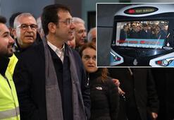 İmamoğlu Mecidiyeköy- Mahmutbey metrosunun açılış tarihini açıkladı