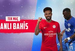 Antalyaspor-Kasımpaşa maçı canlı bahisle Misli.comda...