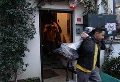 Ölen İngiliz eski istihbarat subayının Karaköydeki evi içeriden fotoğraflandı