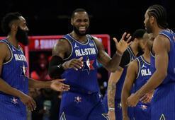 69. NBA All-Star maçını LeBronun takımı kazandı